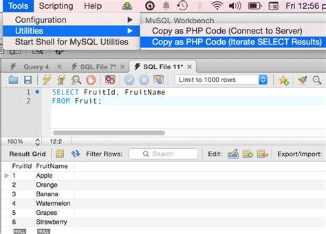 tutorial website mysql create a website with mysql