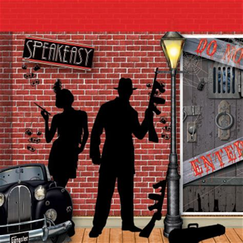 gangster themed decorations roaring 20 s gangster decorating ideas roaring