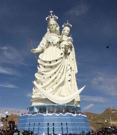 Imagen De La Virgen Maria Mas Grande Del Mundo | bolivia inauguran imagen de la virgen mar 237 a m 225 s grande