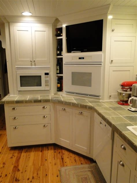 What To Do With Corner Kitchen Cabinets by Kitchen Corner Contest Fine Homebuilding