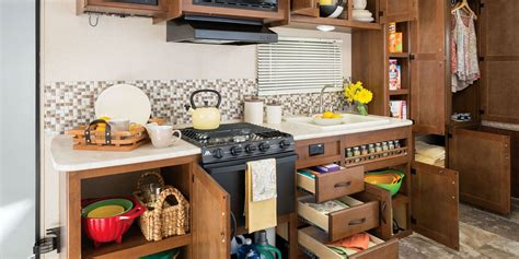 cer trailer kitchen ideas 2015 jay feather ultra lite travel trailers jayco inc