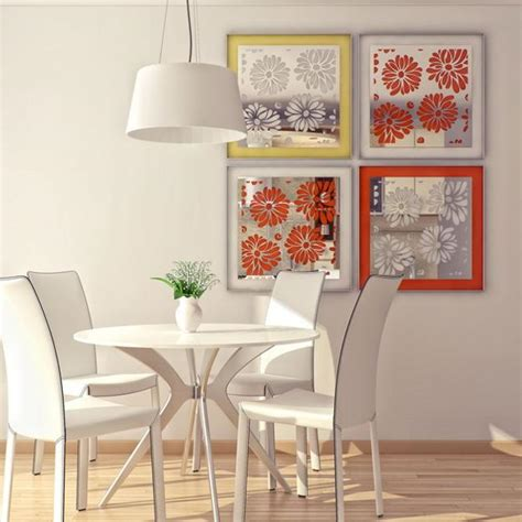 unusually colorful modern interior design ideas with wall mirrors with laser cut images accentuating modern