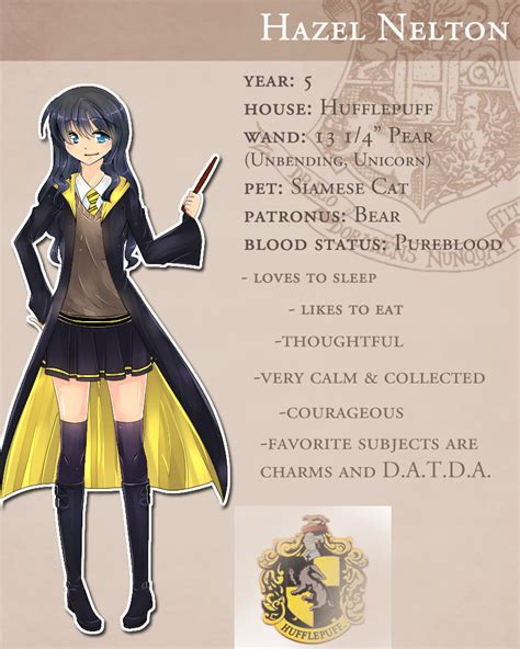 pottermore oc by umitou on deviantart