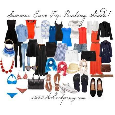 1000 ideas about travel wardrobe summer on