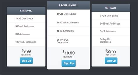 css tutorial ppt free download 30 best html css pricing table templates tutorials