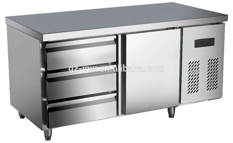 under bench drawer fridge stainless steel under counter refrigerator with drawer