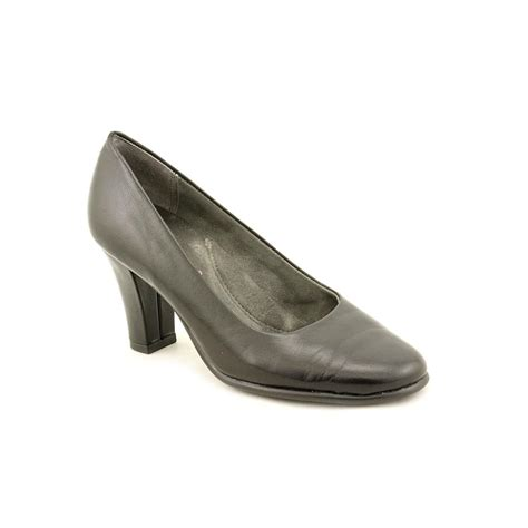 aerosoles dolled up womens leather pumps heels shoes new