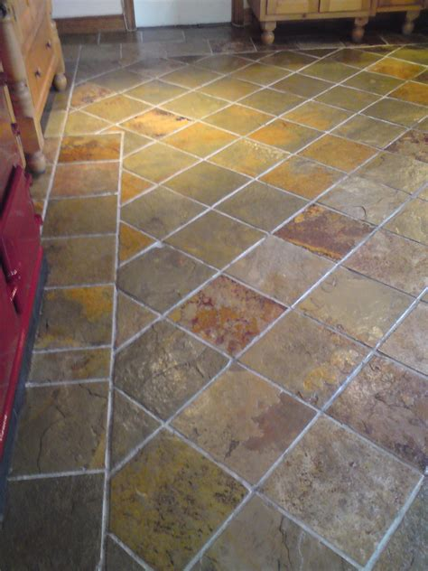 how to clean tile and grout kitchen floors 2 photos