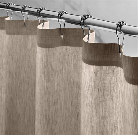 shower curtains restoration hardware restoration hardware xl shower curtain for kates bath