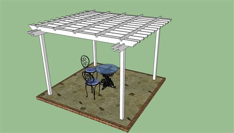 patio arbor plans pergola design howtospecialist how to build step by
