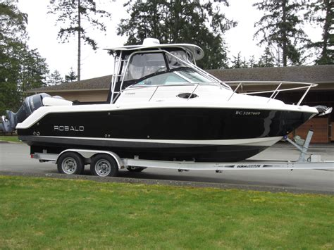 proline boats out of business new listing 26 robalo r265 walkaround 2012 van isle