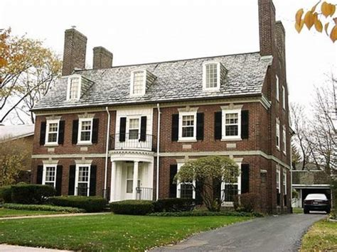 home brick colors french colonial style homes colonial revival style homes interior designs