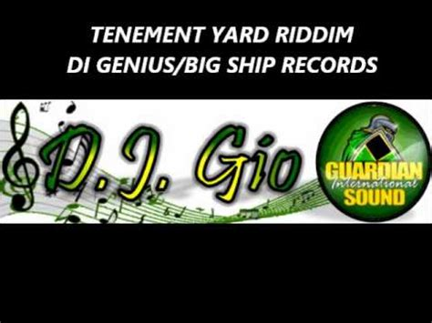 backyard riddim tenement yard riddim mix di genius prod dec 2011 gio