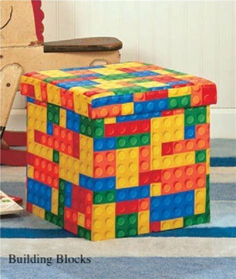 lego storage ottoman lego building blocks toy padded storage ottoman seat