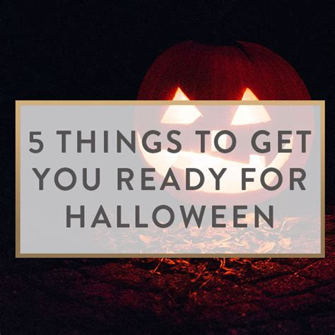5 Things To Get You In The Mood by 5 Things To Get You Ready For It Starts With