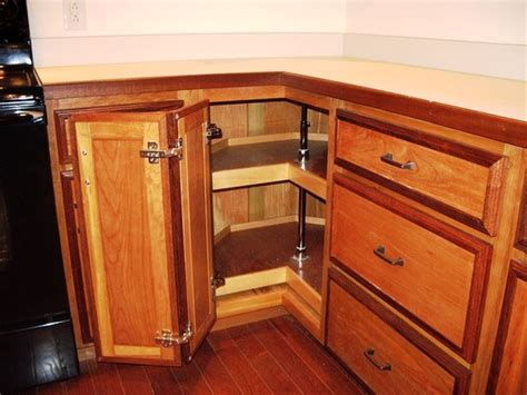 kitchen corner cabinet storage ideas ideastand view