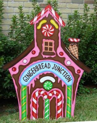 wood cut out yard decorations search