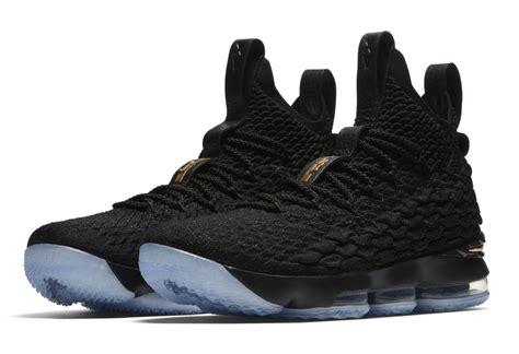 Nike Lebron 15 nike lebron 15 black gold 897649 006 release date sole collector