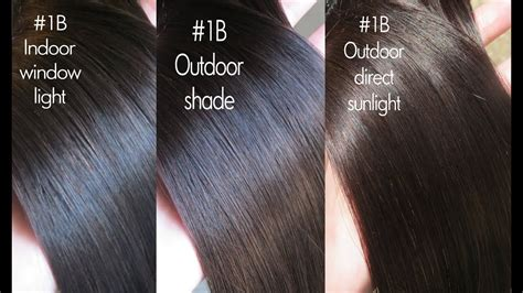 1b hair color minihouse8888 extensions in color 1b black