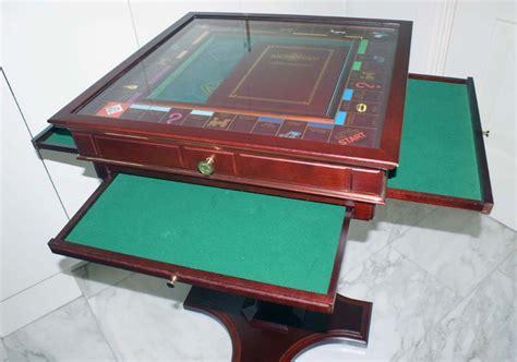 franklin mint monopoly table collector s edition catawiki