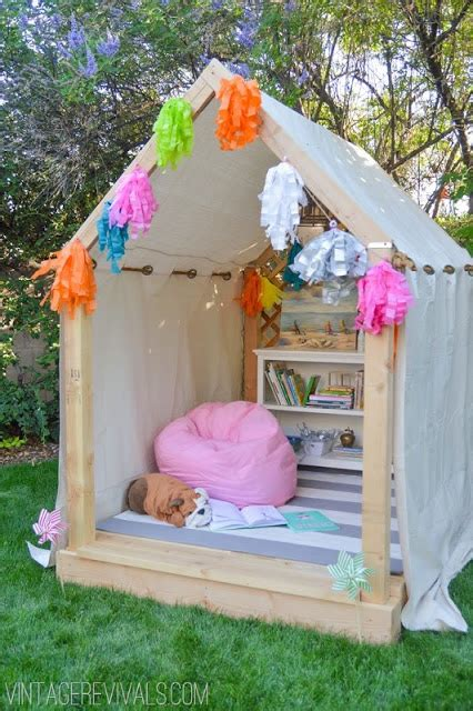 best diy backyard playhouse ideas the stay at home mom