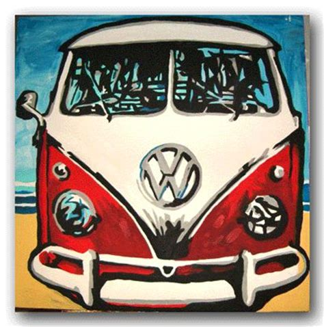 volkswagen bus painting 2559 best art vw bus images on pinterest vw beetles vw