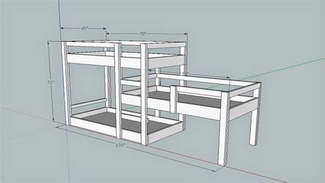 Custom Bunk Bed Plans Bunk Bed Build Merzke Custom Woodworking