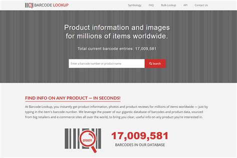 Barcode Lookup Toronto Web Design Company Website Designers In Toronto