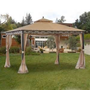 Gazebo Garden Set by Garden Winds Replacement Canopy Top And Netting Set For