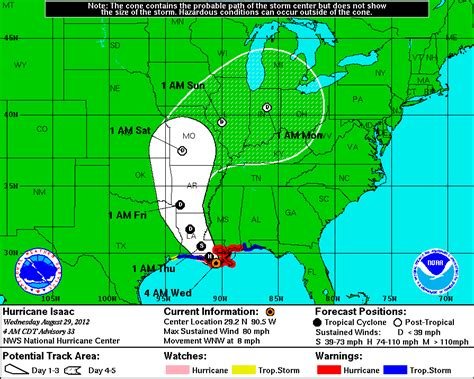 louisiana hurricane map noaa hurricane isaac flooding southeast louisiana