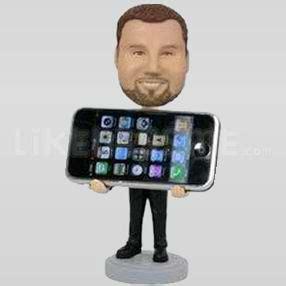 bobblehead holder personalized iphone holder bobblehead buy personalized