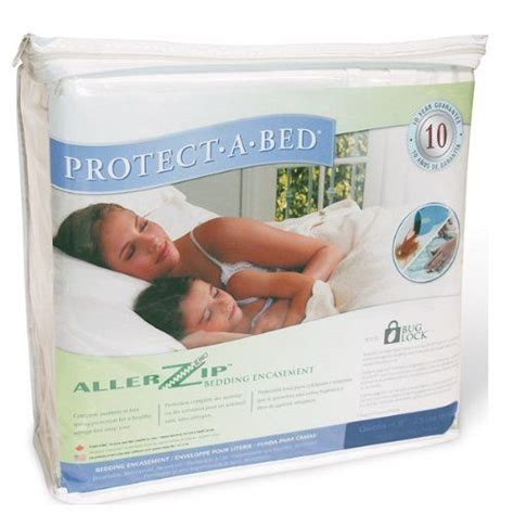 Allergy Proof Mattress Cover by 11 Quot Allerzip Terrycloth Anti Allergy And