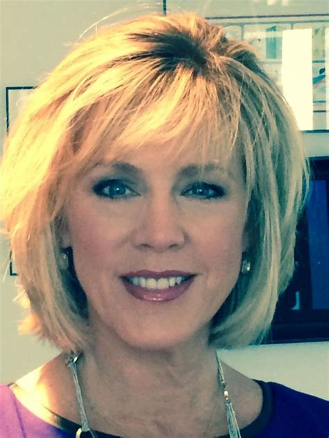 hairstyles deborah norville deborah norville s new haircut with front and back photos