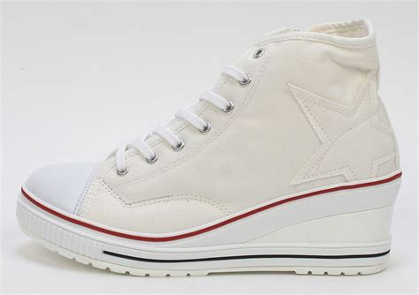 high top tennis shoes for canvas wedge high top sneakers tennis shoes white us