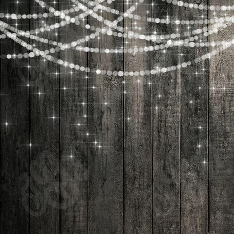 rustikale leuchten bokeh string lights rustic wood chalkboard digital