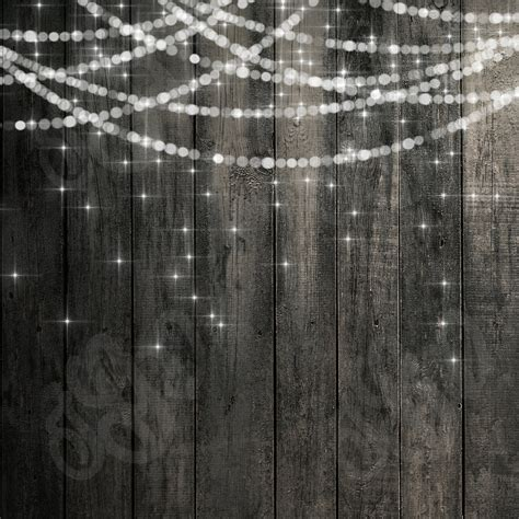 rustic string lights bokeh string lights rustic wood chalkboard digital