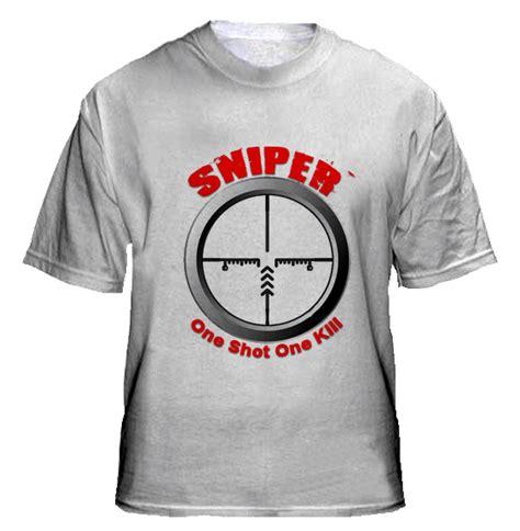 Kaos Blackwater sniper t shirt design collections t shirts design