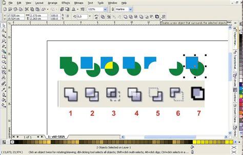corel draw x7 remove how to trim object using coreldraw youtube