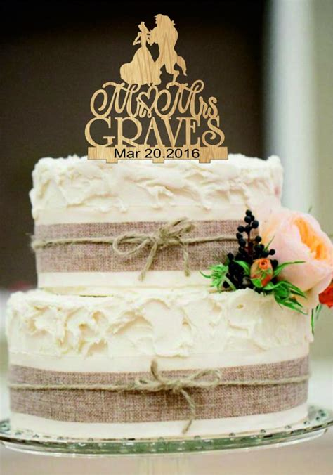Wedding Blessing Cakes by Silhouette Personalized Wedding Cake Topper Mr And Mrs