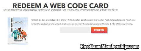 disney infinity web code earn free disney infinity 2 0 web codes for play sets