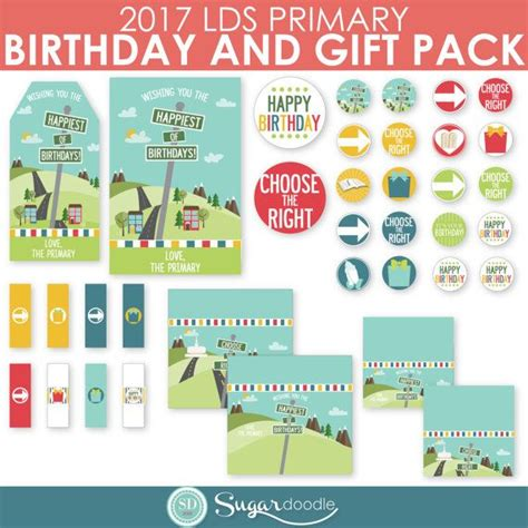 primary birthday treat card template 17 best images about primary on