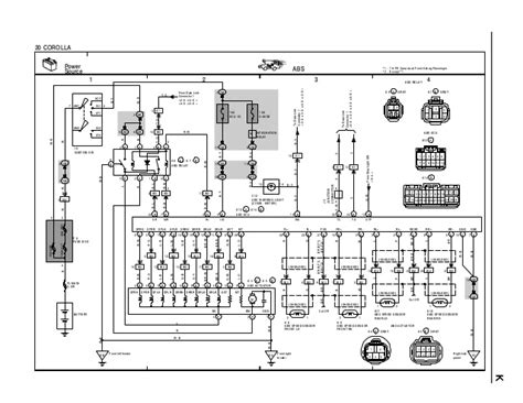 toyota wiring diagram 20 wiring diagram with description