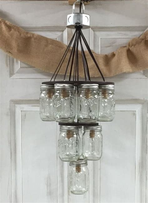 3 Jar Chandelier Jar Chandelier Jar Chandelier And Chandeliers On