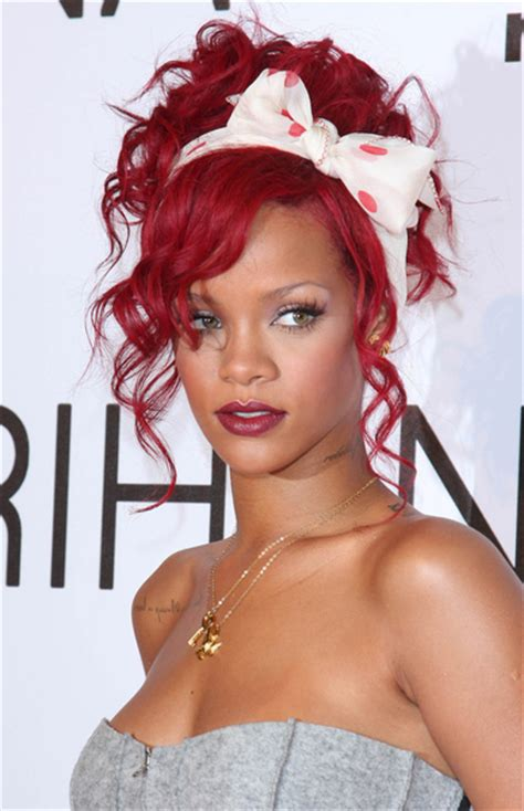 pop star with red curly hair rihanna pop superstar or overrated thyblackman