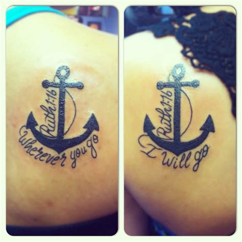 sister anchor tattoos 61 unique tattoos ideas with pictures piercings