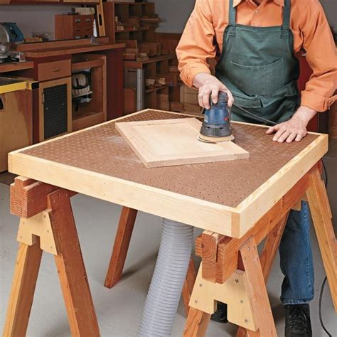 downdraft table plans free woodworking projects plans