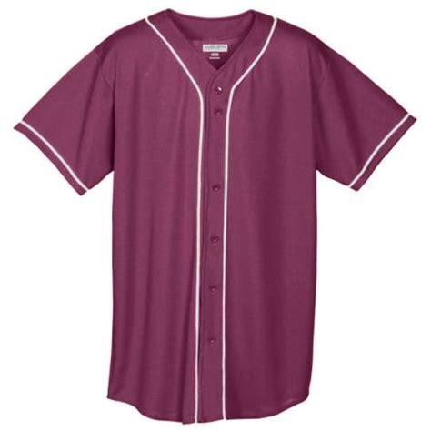Ayamor Maroon Navy 50 augusta braided button baseball jersey 593 594