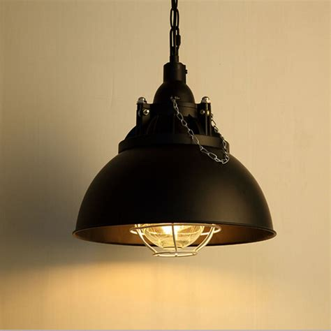 Retro Pendant Light Vintage Industrial Pendant Light Loft Retro Metal Edison Led Globe Ceiling L Ebay