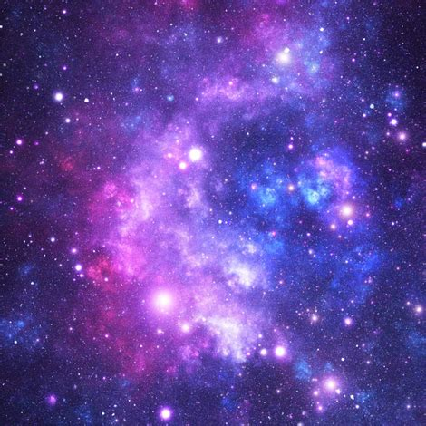 universo floral pattern purple space stars fabric inspirationz spoonflower