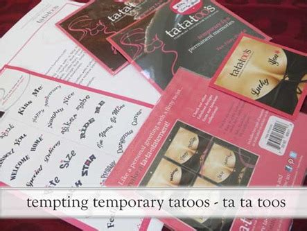 mens gifts for valentines gift tata temporary tattoos with our